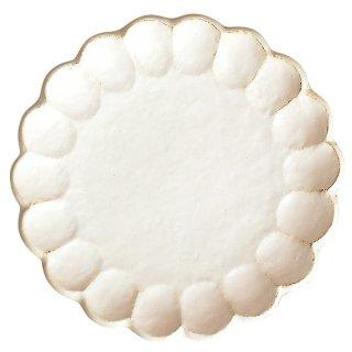 リンカホワイト 27プレート 26.5cm サラダ 業務用 g-1934-01