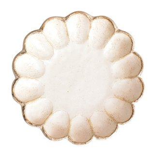リンカホワイト 21プレート 21.5cm サラダ 業務用 g-1934-03