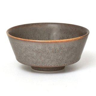 グレージュ角茶碗 11cm カレー 業務用 g-1928-18