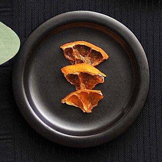 黒マットリム小皿 8.5cm 豆皿 業務用 g-1942-03