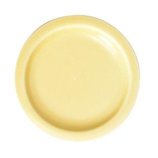イエローリム小皿 8.5cm 豆皿 業務用 g-1942-05