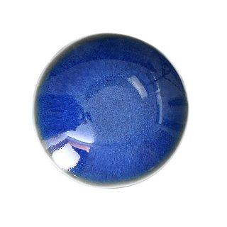透明紺まめ皿 7.3cm 豆皿 業務用 g-1942-15