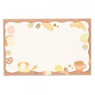 SH封筒付メッセージカード パン