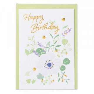 HPミニカード 誕生日 花