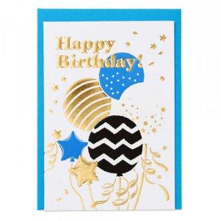 HPミニカード 誕生日 風船