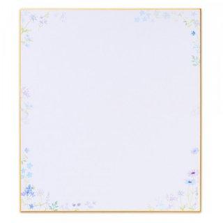色紙 ブルー
