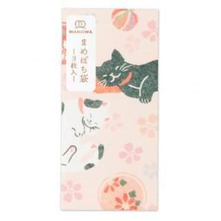 WWまめぽち袋 日本猫