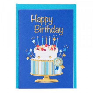 HPミニカード 誕生日 ボーイA