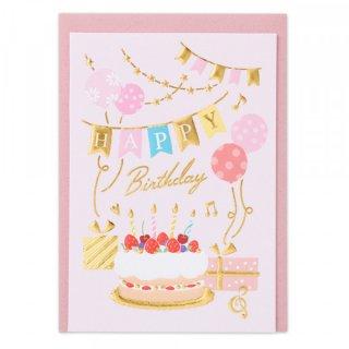 HPミニカード 誕生日 ガールA