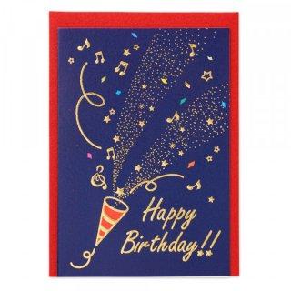 HPミニカード 誕生日 クラッカーA