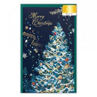 カード クリスマス  ヴィラブルー