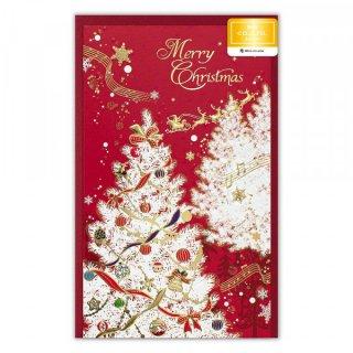 カード クリスマス  ヴィラレッド
