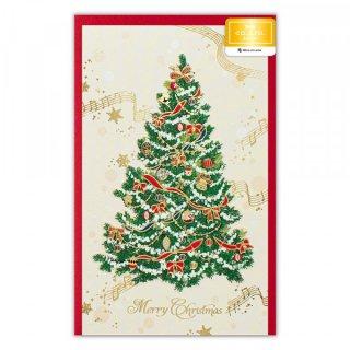 カード クリスマス  ヴィラグリーン