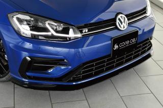 Produced by Next innovation<br>for Volkswagen Golf7.5 / Golf7<br>Front Splitter / カーボンファイバー 5mm