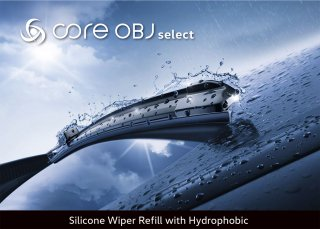 Silicone Wiper Refill with Hydrophobic<br>ワイパー用替えゴム(撥水コーティングタイプ)