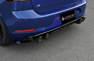 Produced by Next innovation<br>for Volkswagen Golf7.5<br>Rear Splitter / グロスブラック 5mm
