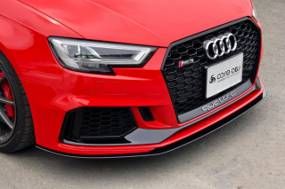 Produced by Next innovation<br>for Audi RS3 (8VM/8VF)<br>Front Splitter/グロスブラック 5mm