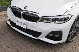 Produced by Next innovation<br>for BMW 3Series M Sport (G20/21)<br>Front Splitter/素地ブラック磨き5�