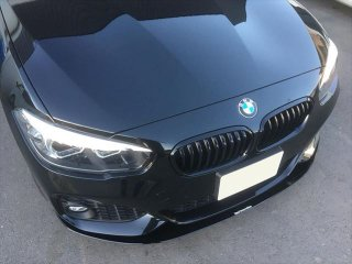 Produced by Next innovation<br>for BMW 1Series M Sport (F20)<br>Front Splitter/グロスブラック 5�
