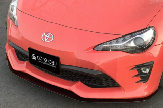 Produced by Next innovation<br>for TOYOTA 86 (ZN6)<br>Front Splitter/素地ブラック磨き5�