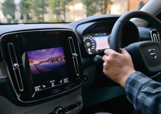 core dev TVC for VOLVO<br> Sensus Navigation 9inch<br>【取付サービス商品※工賃込み】