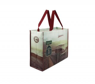 <img class='new_mark_img1' src='https://img.shop-pro.jp/img/new/icons55.gif' style='border:none;display:inline;margin:0px;padding:0px;width:auto;' />Volkswagen SHOPPER BAG<br>BRISA : VW T1 BUS SHOPPER BAG HIGHWAY 1