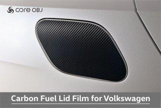 core OBJ Carbon Fuel Lid Film for Volkswagen