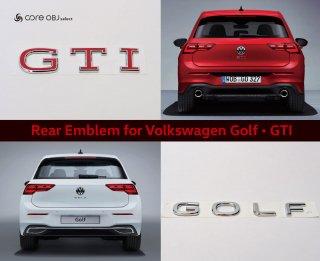 core OBJ select Rear Emblem Volkswagen Golf ・GTI