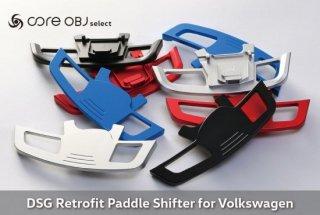 core OBJ select <br>DSG Retrofit Paddle Shifter <br>for Volkswagen<br>【取付サービス商品※工賃込み】