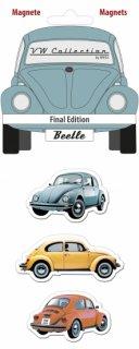 BRISA<BR>VWビートルマグネット(3種1セット)- FINAL