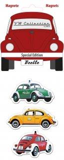 BRISA<BR>VWビートルマグネット(3種1セット) - SPECIAL