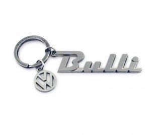 BRISA<BR>VW BULLI キーホルダー(チャーム付)- LOGO BULLI (D)