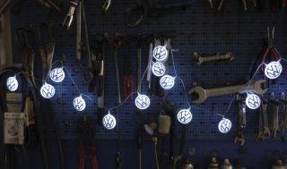 BRISA<BR>VWロゴ ライト(20個 x LEDライト)- ブルー/ホワイト