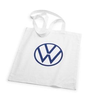 Volkswagen AG アクセサリー<BR>New Volkswagen New Logoコットンバッグホワイト