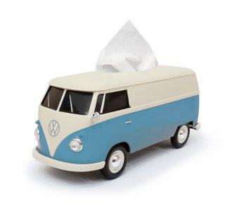 【数量限定】core OBJ select<br>Volkswagen Bus Tissue Box Plus Two-Tone ICE BLUE&CREAM