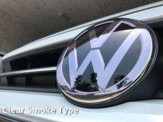 <img class='new_mark_img1' src='https://img.shop-pro.jp/img/new/icons15.gif' style='border:none;display:inline;margin:0px;padding:0px;width:auto;' />core OBJ<br>Front Emblem Protector Clear Smoke type<br> for Volkswagen(130φ)