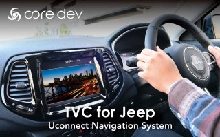 core dev TVC for Jeep<br>【取付サービス商品※工賃込】