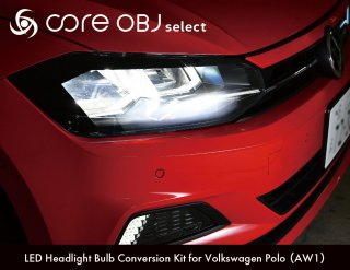 core OBJ select<br>LED Headlight Bulb Conversion Kit<br>for Volkswagen Polo(AW1)