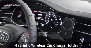 core OBJ select<br>Magnetic Wireless Car Charge Holder