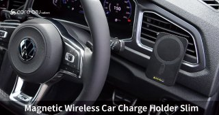 core OBJ select<br>Magnetic Wireless Car Charge Holder Slim