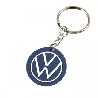 Volkswagen of America アクセサリー<br>Volkswagen New Logo PVCキーホルダー