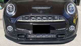 Produced by Next innovation for MINI F55 F56 F57<br>Front Splitter/グロスブラック 8�