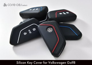 <img class='new_mark_img1' src='https://img.shop-pro.jp/img/new/icons15.gif' style='border:none;display:inline;margin:0px;padding:0px;width:auto;' />core OBJ select<br>Silicon Key Cover for Volkswagen Golf8