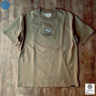 Volkswagen Original T-Shirt<br>2021 summer 2360B ベージュ