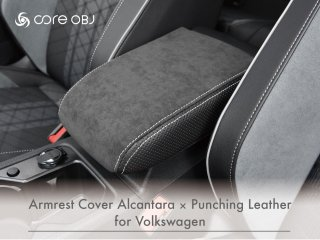 <img class='new_mark_img1' src='https://img.shop-pro.jp/img/new/icons15.gif' style='border:none;display:inline;margin:0px;padding:0px;width:auto;' />core OBJ<br>Armrest Cover Alcantara × Punching Leather<br>for Volkswagen