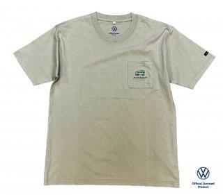 【数量限定】<br>Volkswagen Original T-Shirt<br>2021 summer 5304B ベージュ