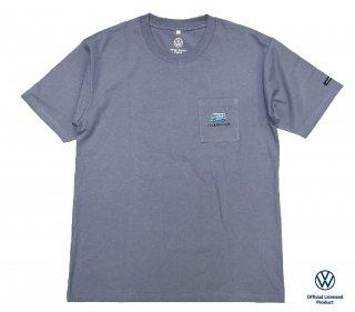 【数量限定】<br>Volkswagen Original T-Shirt<br>2021 summer 5304BL ブルー