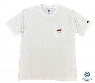 【数量限定】<br>Volkswagen Original T-Shirt<br>2021 summer 5304W ホワイト