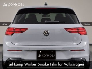 <img class='new_mark_img1' src='https://img.shop-pro.jp/img/new/icons15.gif' style='border:none;display:inline;margin:0px;padding:0px;width:auto;' />core OBJ<br>Tail Lamp Winker Smoke Film<br>for Volkswagen
