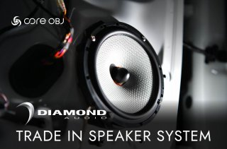 <img class='new_mark_img1' src='https://img.shop-pro.jp/img/new/icons15.gif' style='border:none;display:inline;margin:0px;padding:0px;width:auto;' />core OBJ<br>DIAMOND AUDIO TRADE IN SPEAKER SYSTEM